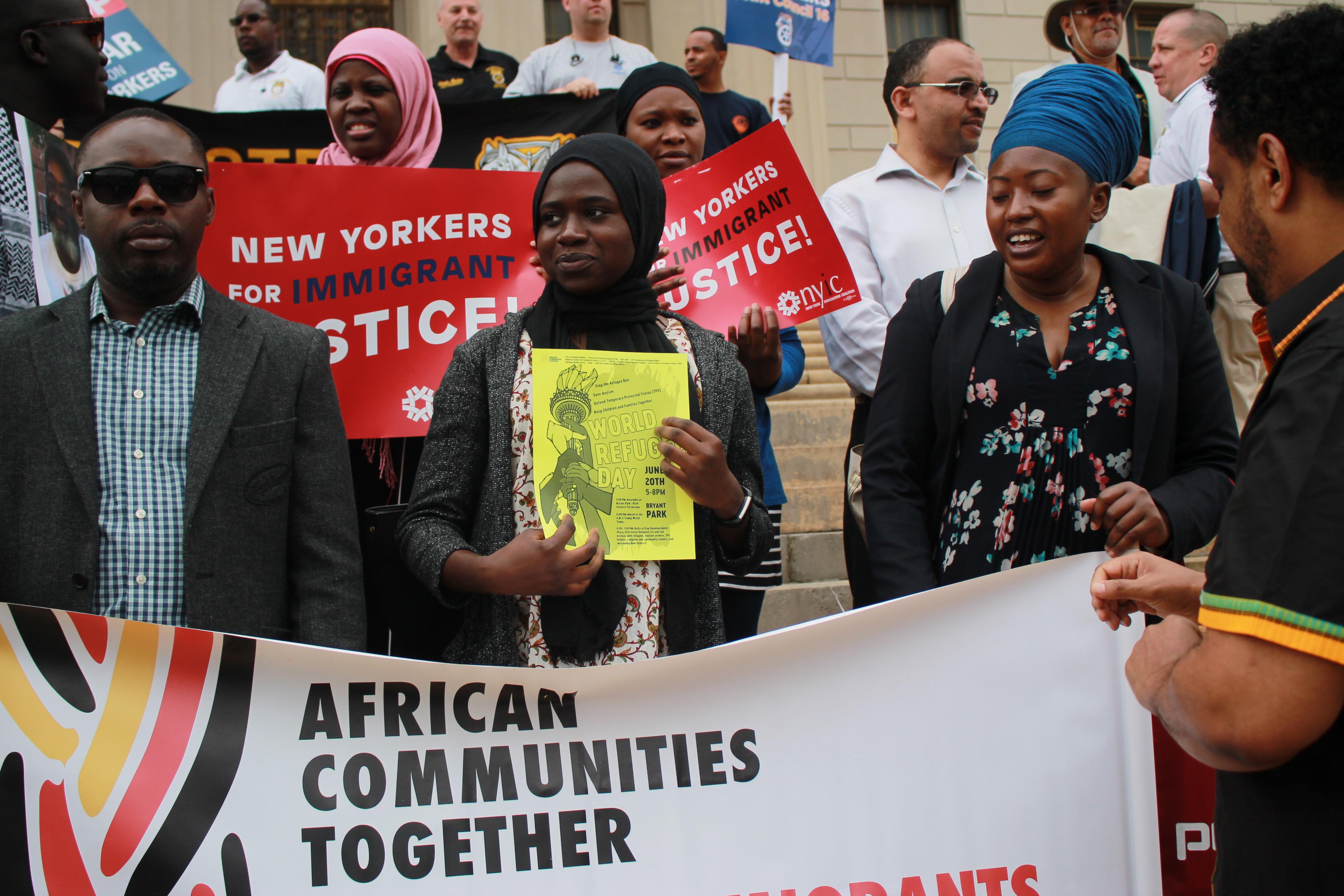 La Mort de Mouctar Diallo: Les communautés Africaines demandent justice