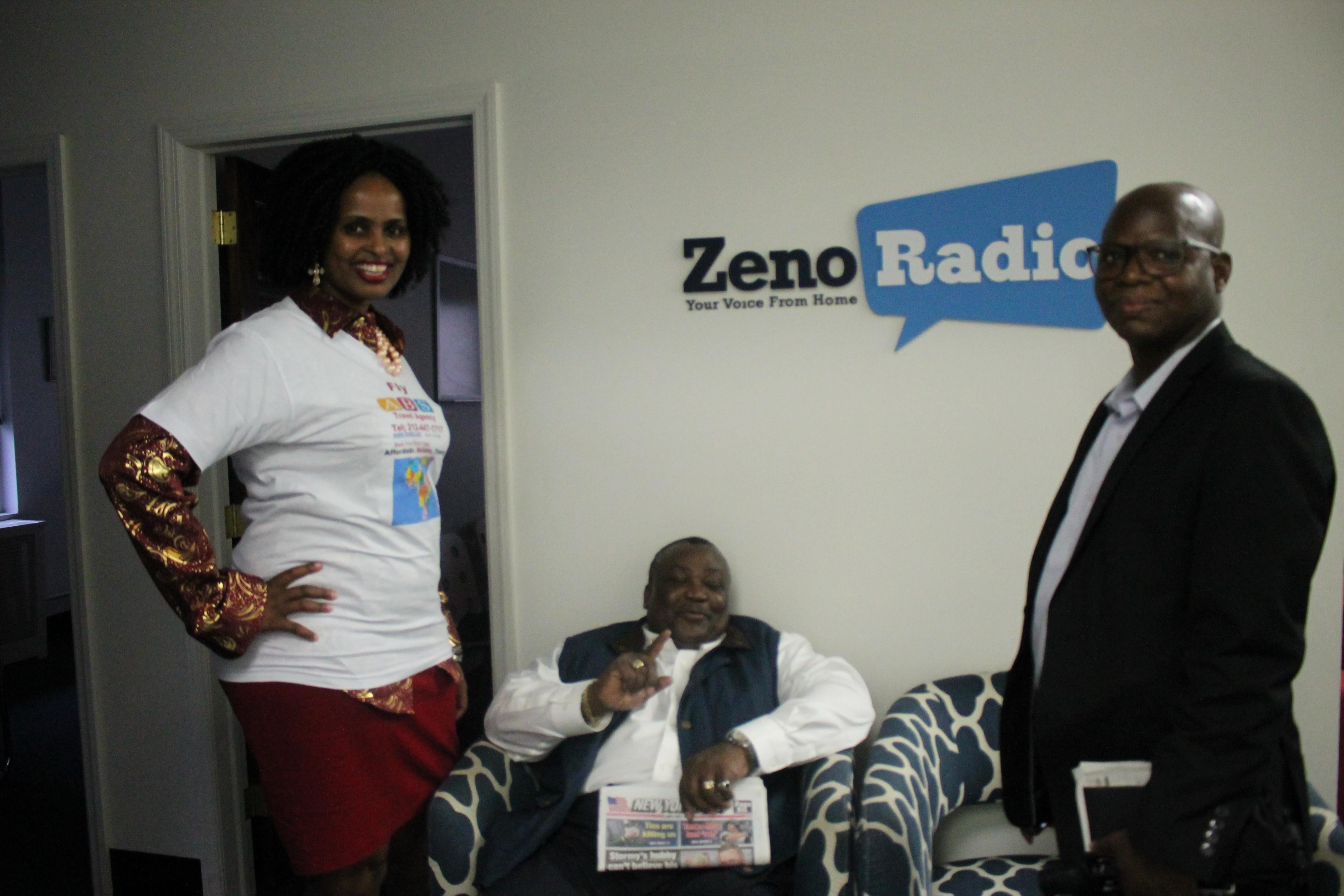 The Africain Journal était l'invité de Zeno Radio