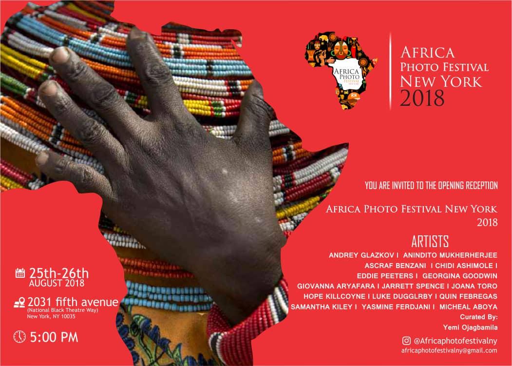 Africa Photo Festival New York est le rendez-vous des artistes talentueux Africains à New York