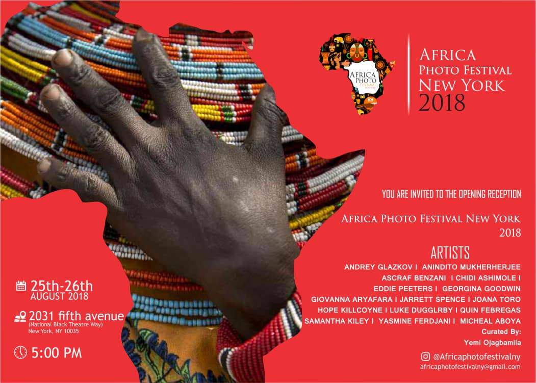 Africa Photo Festival New York August  25 & 26, 2018