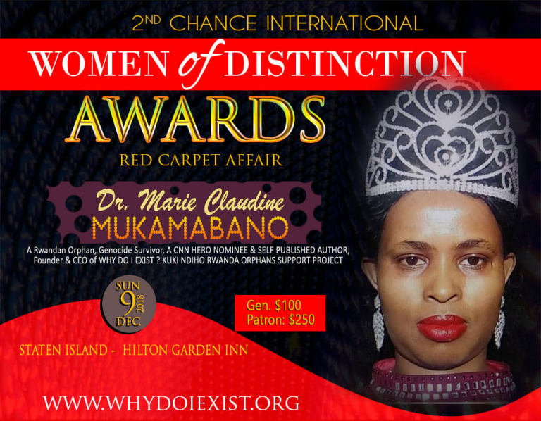 Women of Distinction Awards: Eight women will be honored in New York
