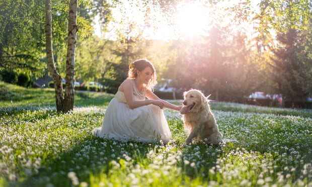 When a woman marries her dog.