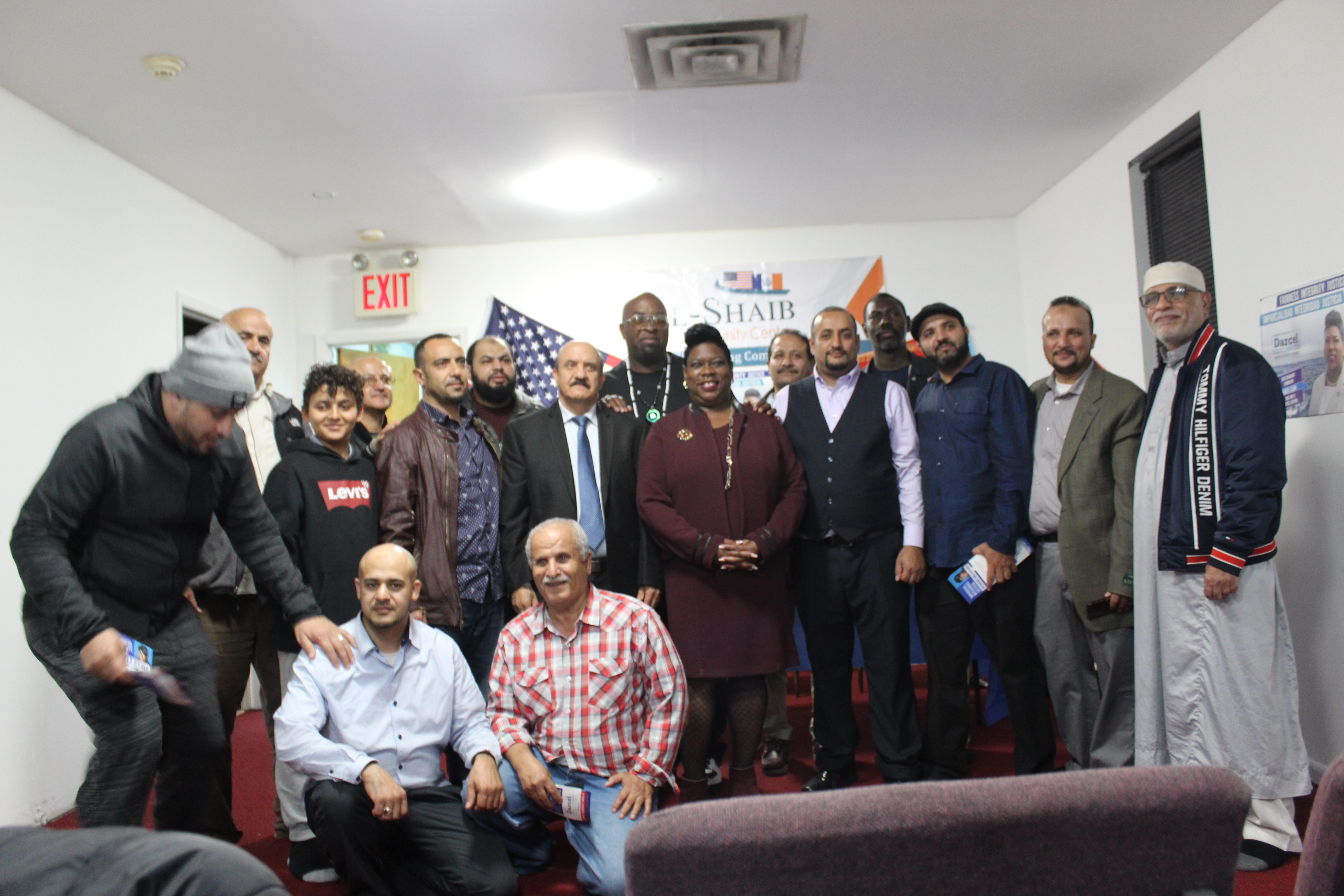 Community peace Diner in the Bronx: The talk about safety with the Bronx County District Attorney Darcel Clark