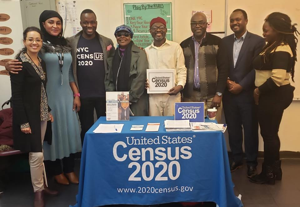 United Census 2020 recruitment campaign:  The African Advisory Council is playing a key role