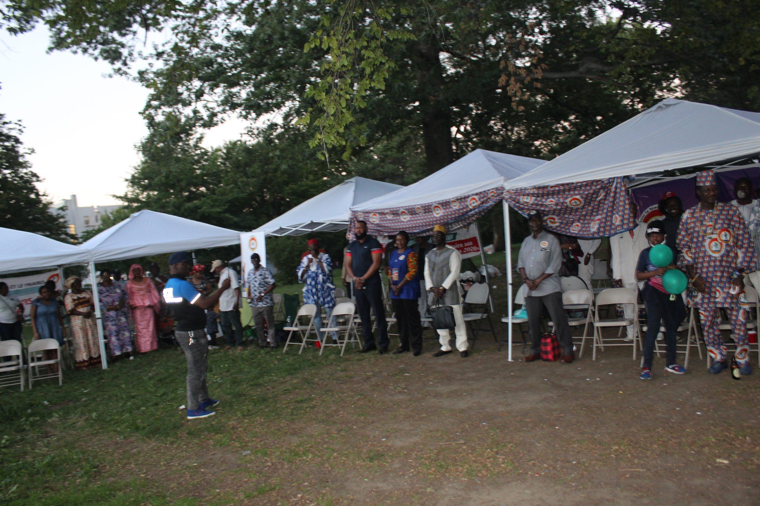 New York: Le CDP a organisé  un barbecue au relent politique
