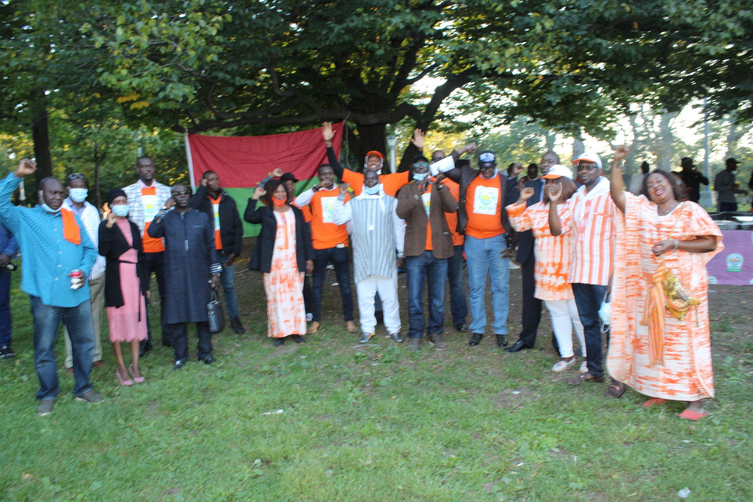New York: Autour d'un barbecue, le MPP appelle à voter pour le président Kaboré