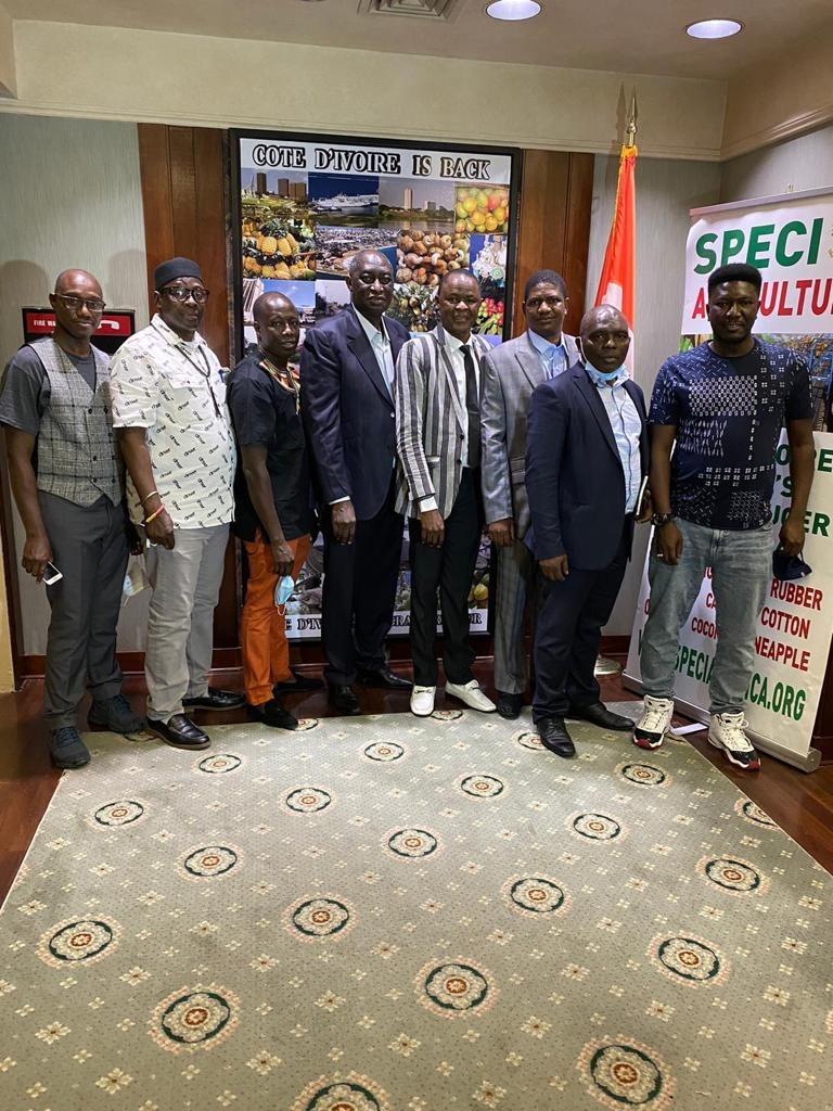 Contre l'apologie de la xénophobie   en Côte d'Ivoire: L'ONG Stand for Life and Liberty reçoit le soutien des autorités ivoiriennes