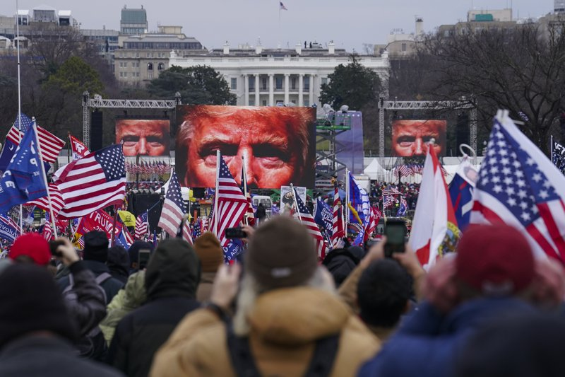 Records: Trump allies behind rally that ignited Capitol riot