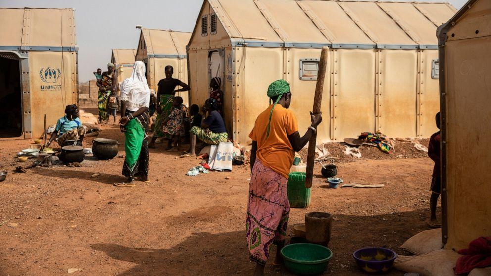 Women fleeing Burkina Faso violence face sexual assault
