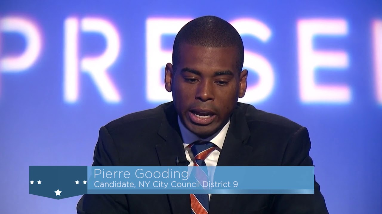 "Attorney Pierre Gooding: ""I have chosen a life in politics to help my community"""