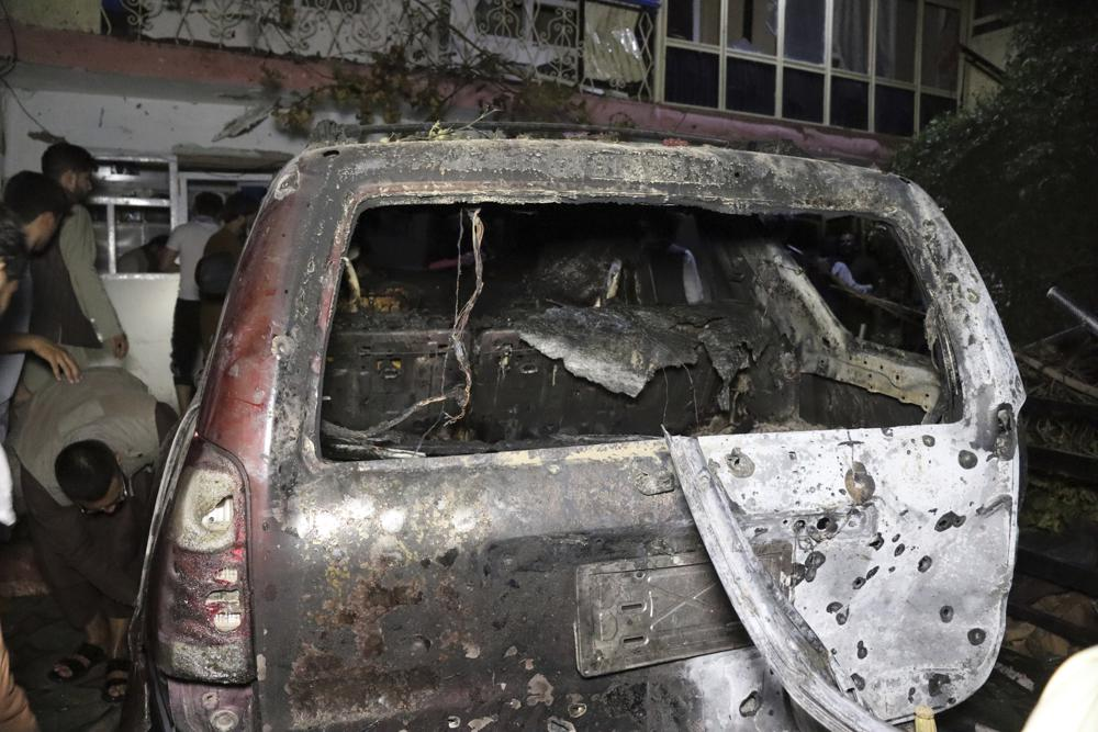 US says drone kills IS bombers targeting Kabul airport