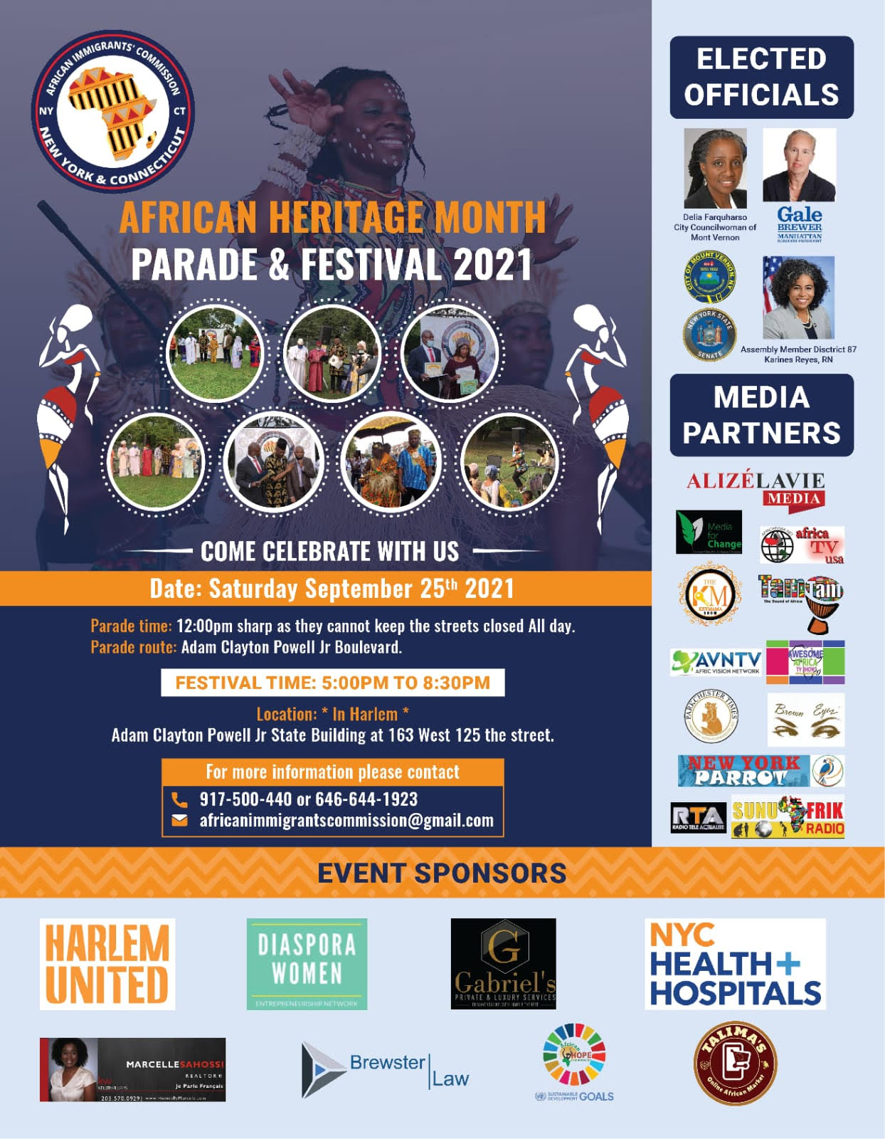 African Heritage Month Parade and Festival this Saturday