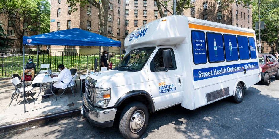 Street Health Outreach & Wellness Mobile Units Offer Services to Over 50,000 New Yorkers